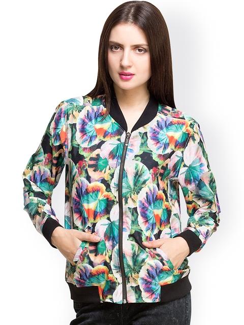 Oxolloxo Multicoloured Printed Jacket