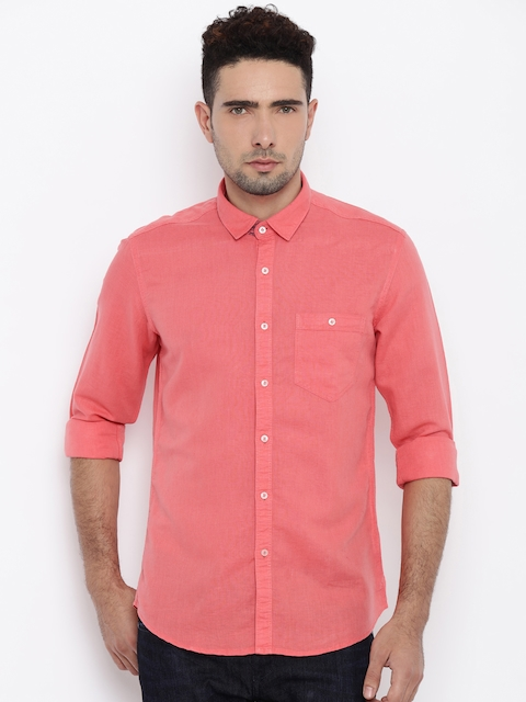 Killer Men Pink Casual Shirt