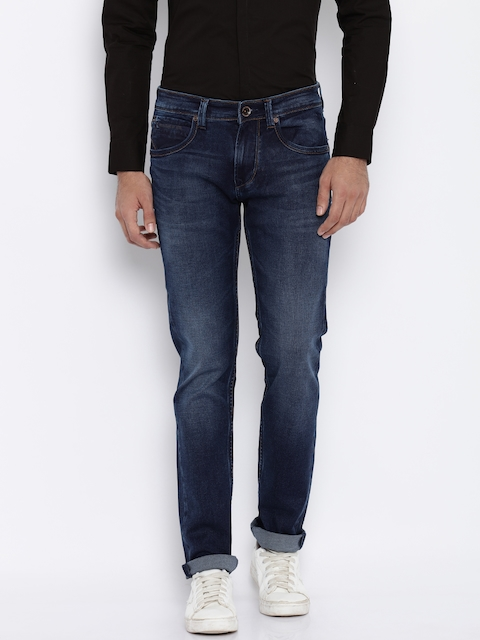 Killer Men Blue Skinny Fit Mid-Rise Clean Look Jeans  available at myntra for Rs.1299