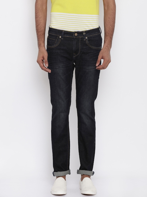 Killer Men Blue Skinny Fit Mid Rise Clean Look Jeans  available at myntra for Rs.1949