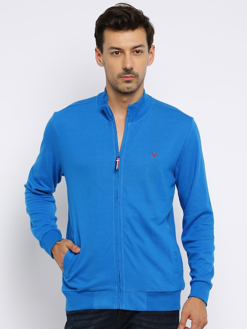 Solly Sport Men Blue Sweatshirt