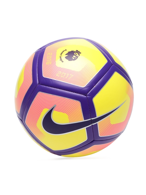 Nike Multicoloured Pitch Printed Football