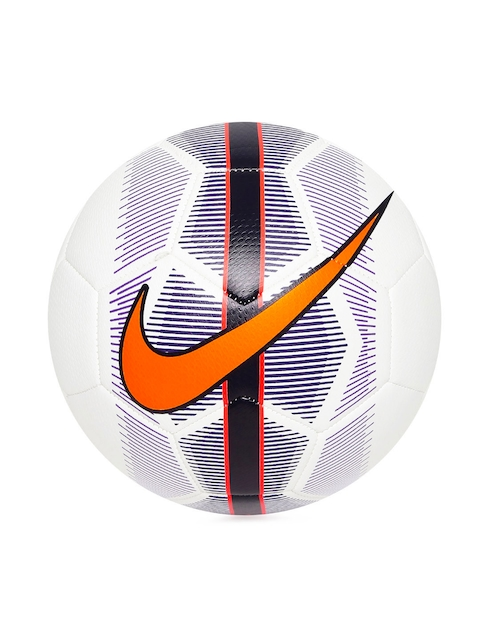 Nike White Mercurial Veer Printed Football