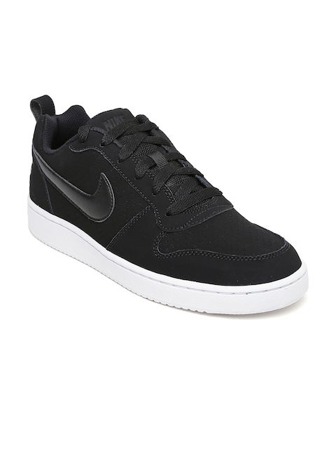 Nike Women Black COURT BOROUGH LOW Sneakers