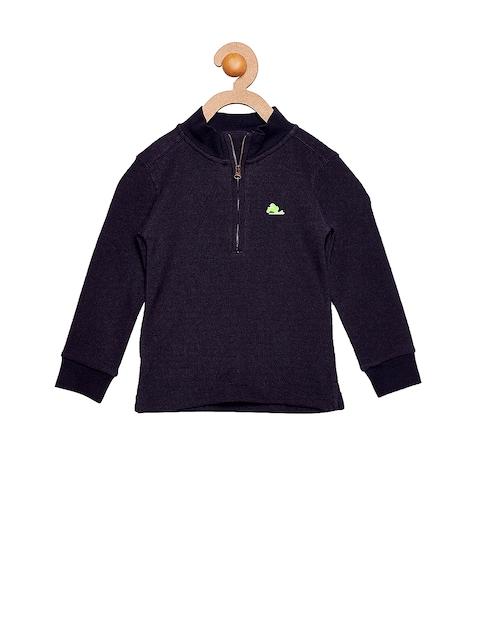 Cherry Crumble Girls Navy Sweatshirt
