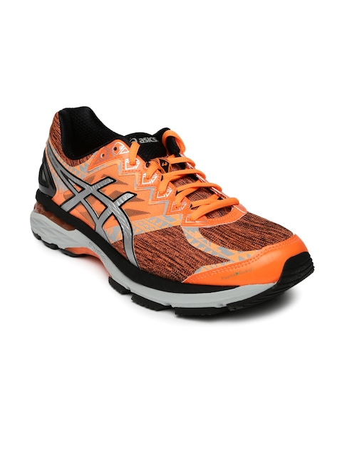 ASICS Men Orange GT-2000 4 Lite Show PlasmaGuard Running Shoes