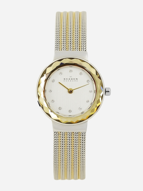 SKAGEN Women Silver-Toned Analogue Watch 456SGS1I-2T