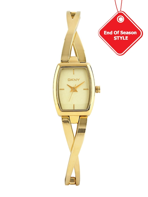 DKNY Women Gold-Toned Dial Watch NY2313I