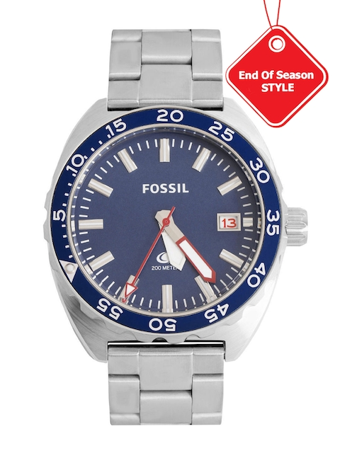 Fossil Analog Blue Dial Chronograph Men's Watch, FS5048I