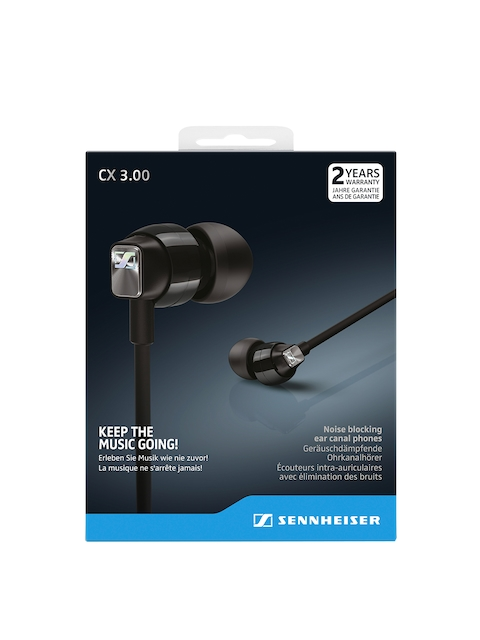 Sennheiser Black CX 3.00 Earbuds