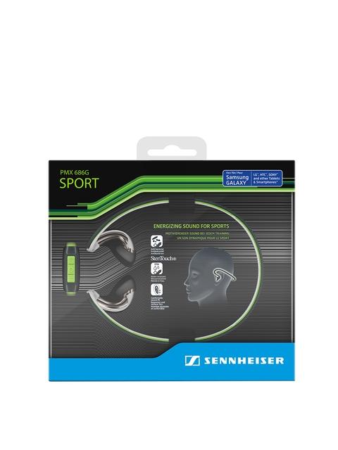 Sennheiser Green PMX 686G Sports Earphones with Mic
