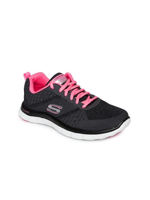 Skechers Women Black Sneakers