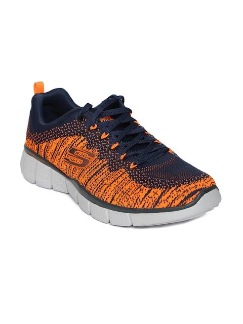 Skechers Men Orange EQUALIZER 2.0 Sneakers