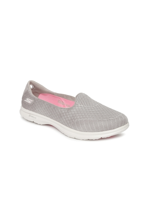 Skechers Women Grey Go Step Walking Shoes