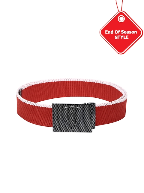 PUMA Men Red Ferrari Replica Belt