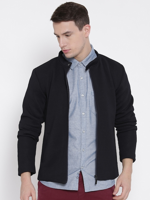 United Colors of Benetton Navy Patterned Jacket