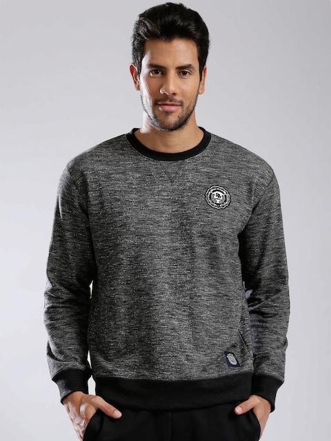 Russell Athletic Grey Patterned Sweatshirt