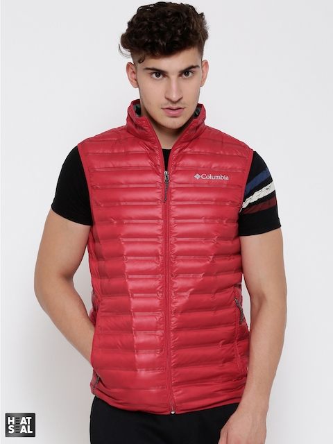 Columbia Red Flash Forward Down Quilted Outdoor Jacket