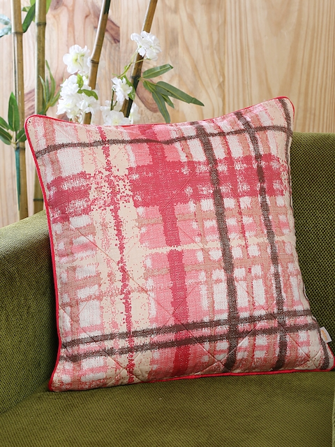 MASPAR Red Single Printed 18 x 18 Square Cushion Cover
