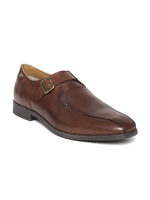 INVICTUS Men Brown Monk Shoes