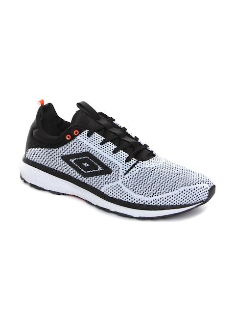 Umbro Men White Running Shoes