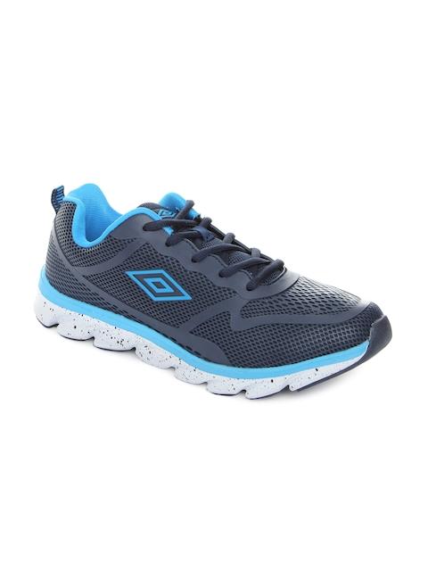 Umbro Men Navy Blue Aksu Running Shoes