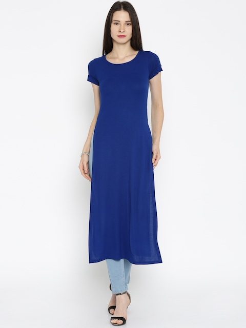AND by Anita Dongre Blue Maxi Top