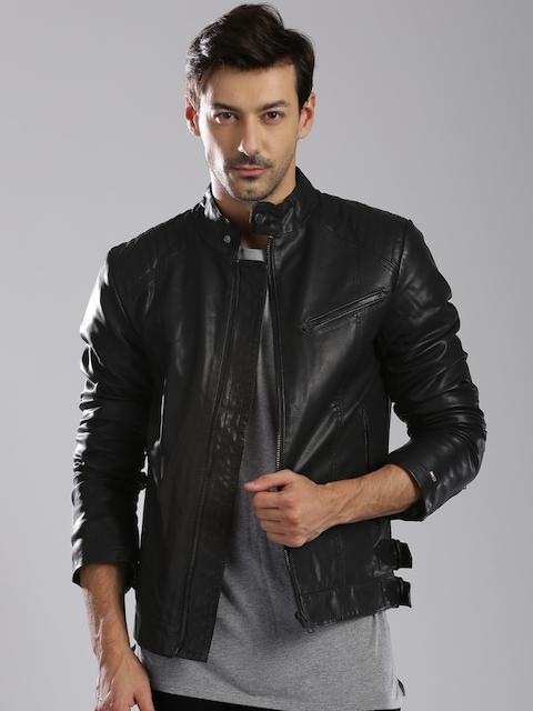 Tommy Hilfiger Black Biker Jacket