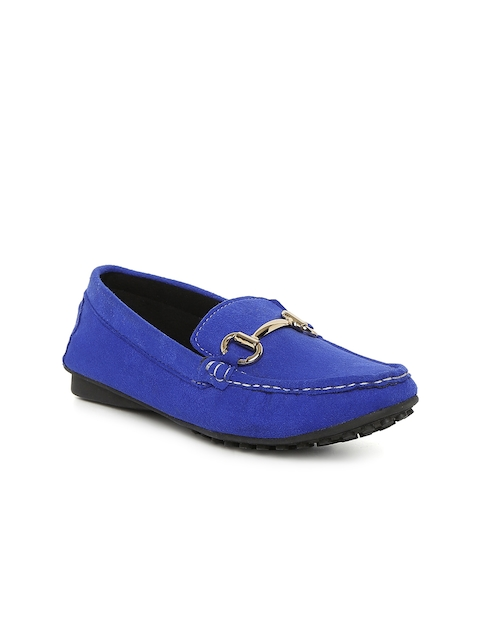 Catwalk Women Blue Solid Loafers