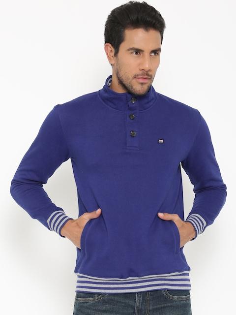 BYFORD by Pantaloons Blue Sweatshirt