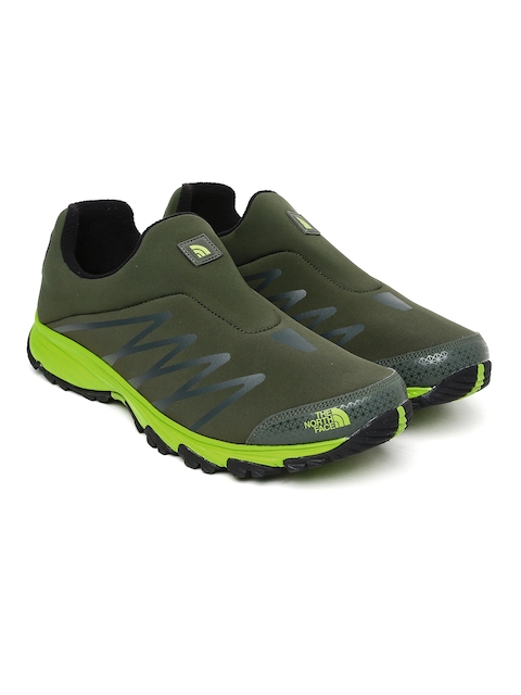 The North Face Men Olive Venture Memo Hiking Shoes