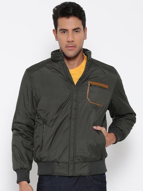 Fort Collins Olive Green Bomber Jacket