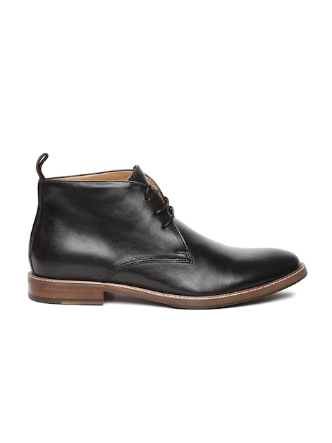 ALDO Men Black Leather Semiformal Alevia Derbys