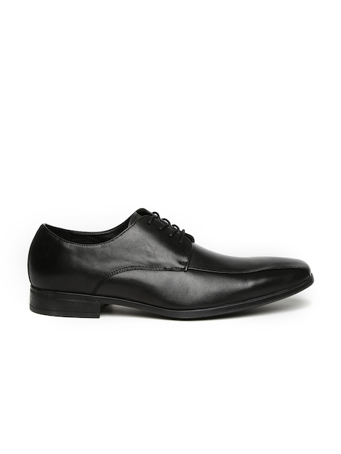 ALDO Men Black Broawia Leather Derbys