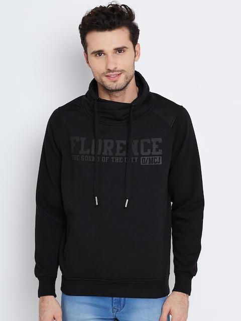 Monte Carlo Black Printed Sweatshirt