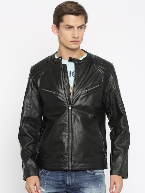 Status Quo Black Biker Jacket
