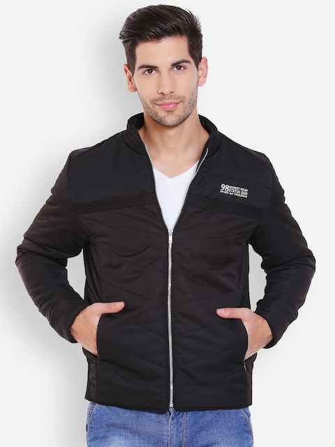 Status Quo Black Quilted Jacket