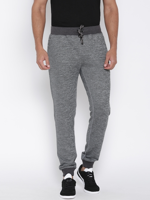 John Players Grey Melange Track Pants