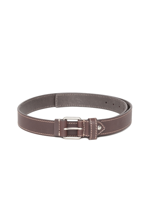 Allen Solly Men Brown Leather Belt  available at myntra for Rs.1049
