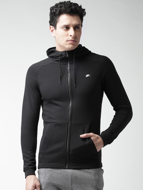 Nike Black Modern Hooded Jacket