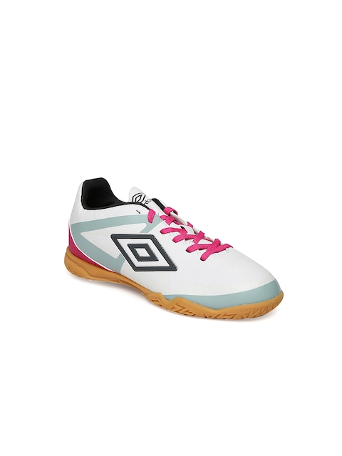 Umbro Men White Indoor Sports Shoes
