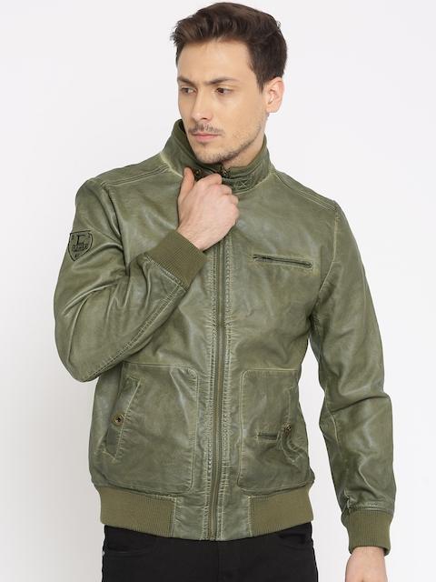 Being Human Olive Green Biker Jacket