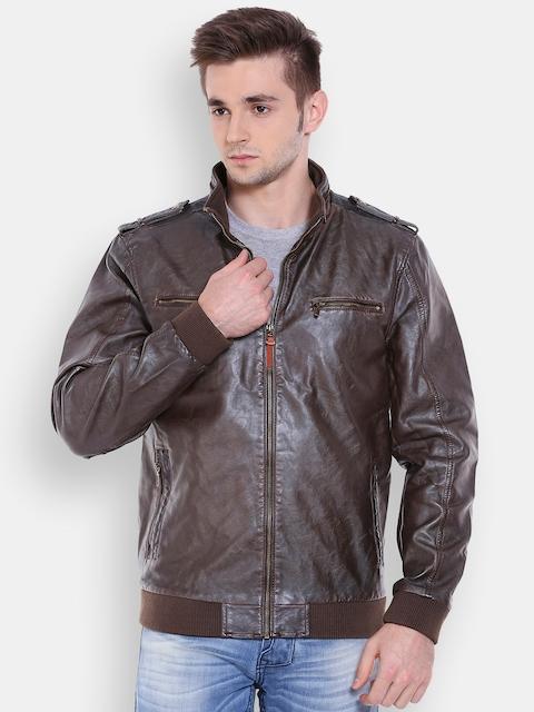 Being Human Men Brown Solid  Jacket