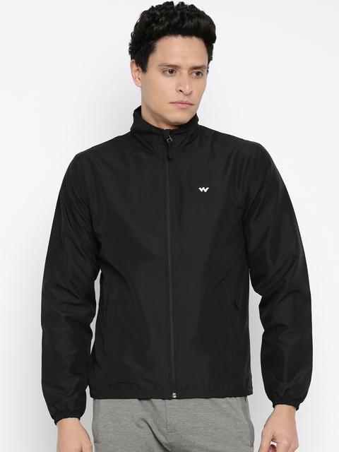 Wildcraft Black Windcheater Jacket