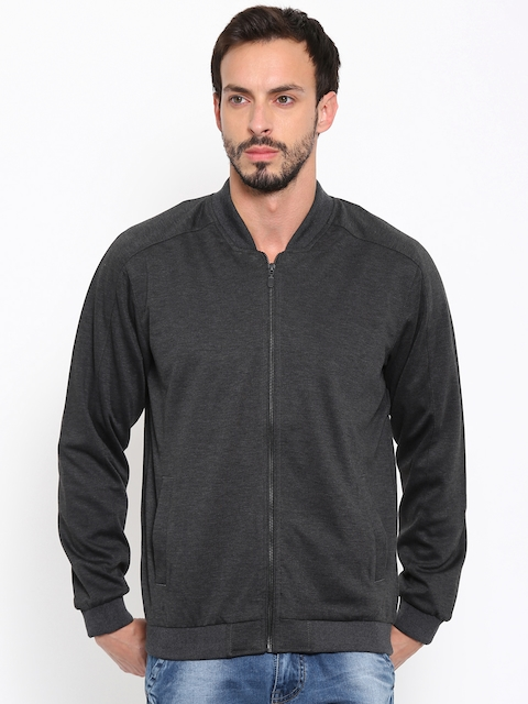 Fame Forever by Lifestyle Charcoal Grey Bomber Jacket