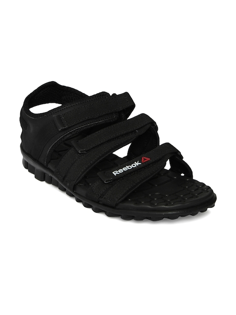 Reebok Men Black Chrome Flex Sandals