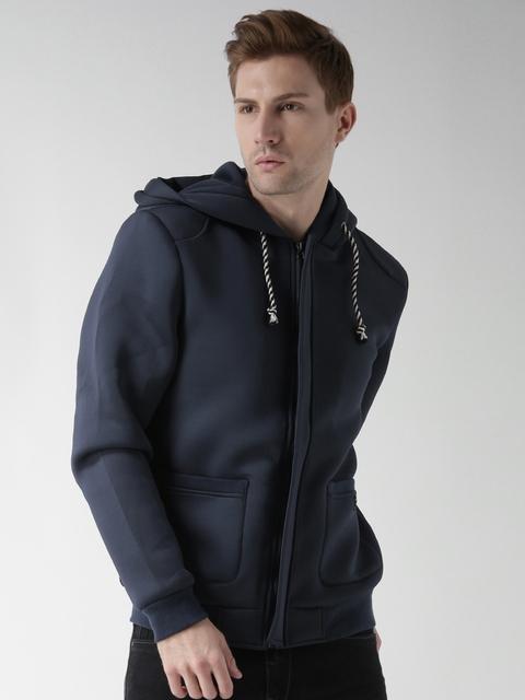 BLEND Navy Hooded Sweatshirt