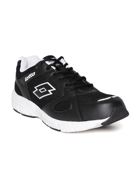 Lotto Men Black OMEGA II Running Shoes