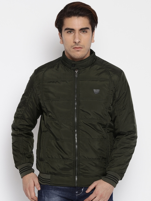 Fort Collins Olive Green Quilted Jacket