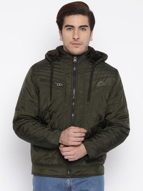Fort Collins Olive Green Hooded Bomber Jacket